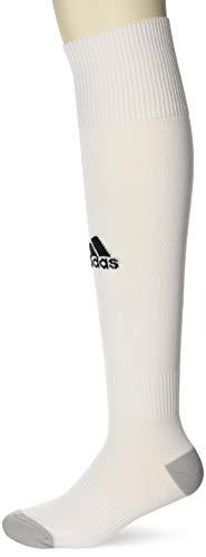 adidas Milano 16 Sock - Medias para hombre, multicolor ( BLANCO / BLANCO), talla 43-45 EU, 1 par