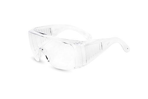 Atope Pegaso 150.01-Gafas Proteccion Gama Modelo Visitor Lente PC Incolora, Transparente, L