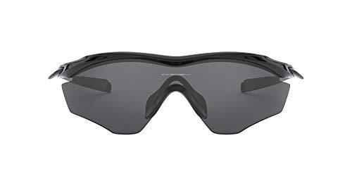 OAKLEY 0OO9343 Gafas de sol para Hombre, Negro Brillo, 0