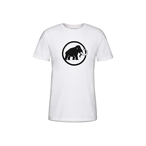 Mammut Camiseta Modelo Camiseta Classic Hombre, White/Black, L