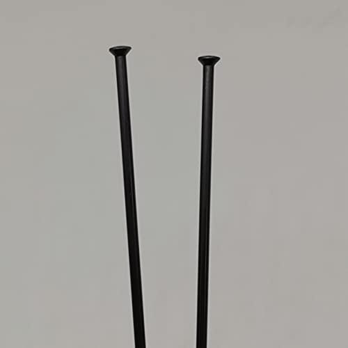 Radios de Bicicleta 56 Piezas 15g Diámetro 1.8mm Pull Straight Black Color Bicycle Spomas De...*