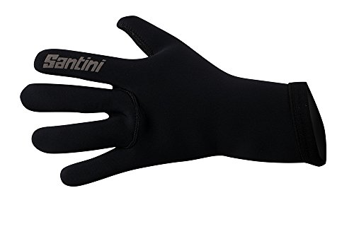 Santini 365 - Guantes, Talla XL, Color Negro