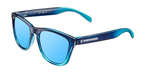 Northweek Gradiant Crystal - Gafas de Sol para Hombre y Mujer, Polarizadas, Azul Hielo*