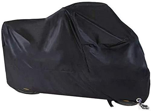 Cubierta de moto impermeable para invierno de 210D Oxford con orificios de bloqueo, cubierta para...*