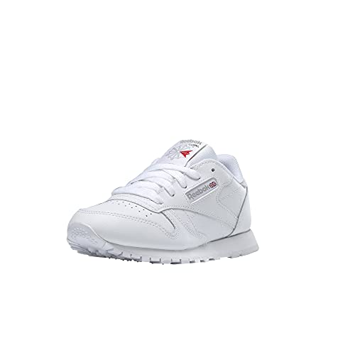 Reebok Classic Leather, Zapatillas de Running Niños, Blanco (White), 38 EU
