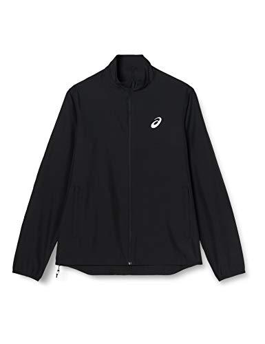 ASICS Silver Jacket Chaqueta, Hombre, Performance Black, L*