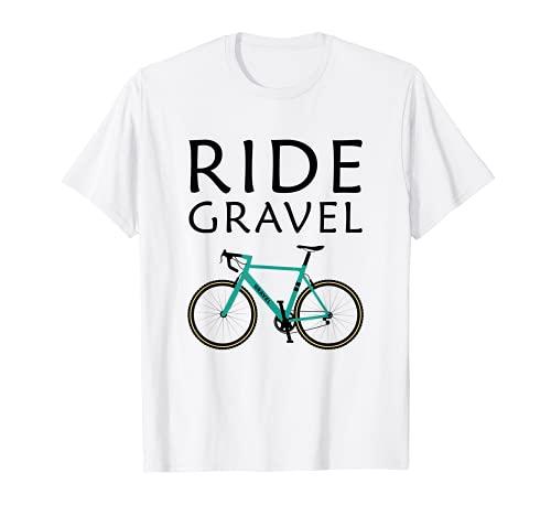 Ride Gravel Bike Bicicleta de Ciclocross and Bikepacking Camiseta