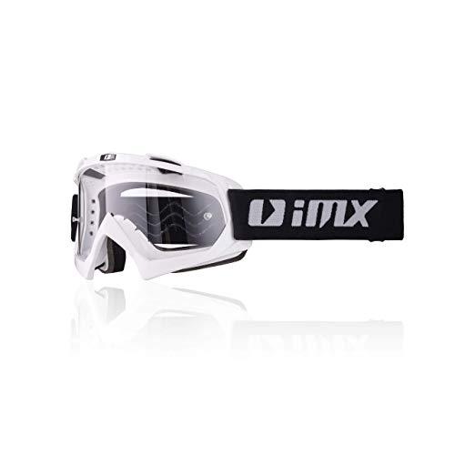iMX Gafas Mud Lente transparente Correa con estampado de silicona Espuma de tres capas Incluye una...*