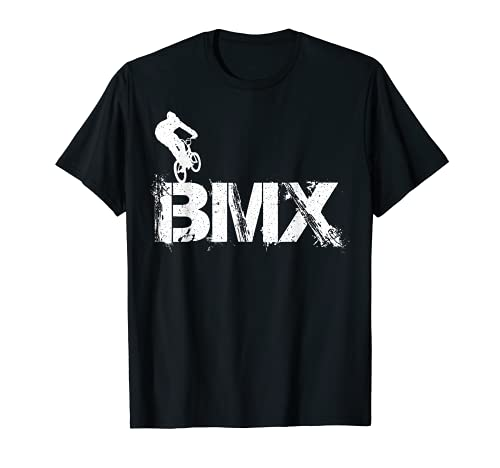BMX Vintage Bike Fans Gift Boys Youth BMX Accessories Camiseta