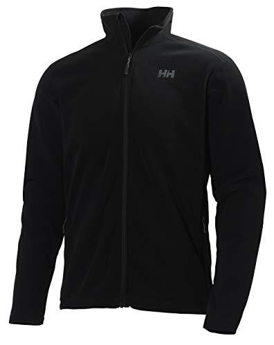 Helly Hansen Daybreaker Fleece Jacket Chaqueta con Forro Polar para Hombres, con tecnología Polartec y diseñada para Cualquier Actividad Casual o Deportiva, Negro, L