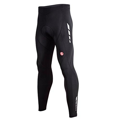 Souke Sports - Pantalon Largo de Ciclismo para Hombre, Pantalón Chándal con Acolchado 4D*