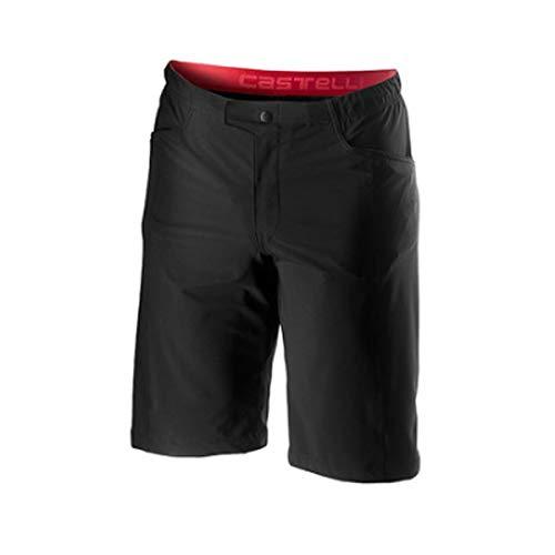 castelli Unlimited Baggy Pantalones Cortos, Hombre, Negro, X-Large