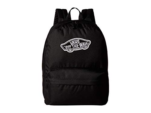 Vans Realm Backpack Mochila Mujer Tipo Casual, 42cm, 22L, Negro (Black)*