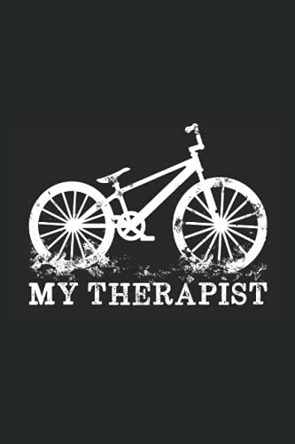 Bmx Street Skatepark Stunt - Freestyle Bmx My Therapist Notebook: Daily Planner I Journal For Daily...*