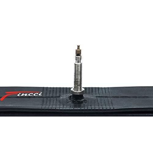 Fincci 20 x 1,75 1,95 2,0 2,1 2,125 Pulgadas 48mm Cámara de Aire Presta Válvula Interior para BMX...*