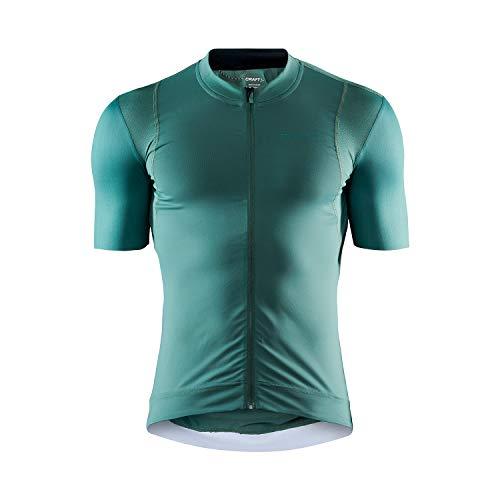 Craft Surge Lumen - Maillot de Ciclismo para Hombre, Unzutreffend, Primavera/Verano, Hombre, Color Moss, tamaño Small