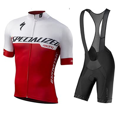 Traje de Ciclismo Hombre de Equipos Profesionales. Culotte y Maillot. Ropa Ciclismo con Badana 12D...*