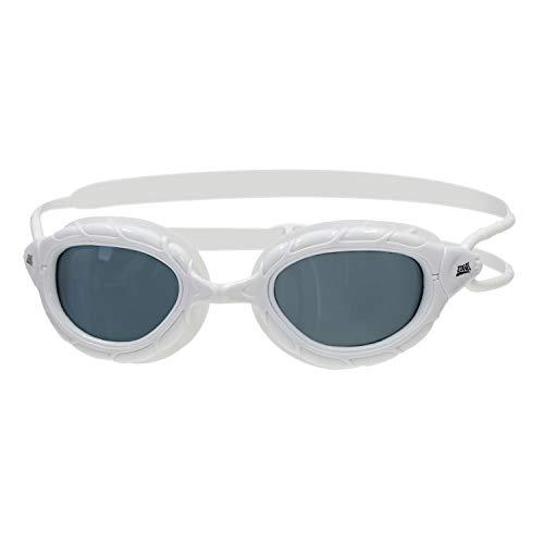 Zoggs Predator Gafas de Natación, sin Género, Blanco (White/Smoke) , Talla única*