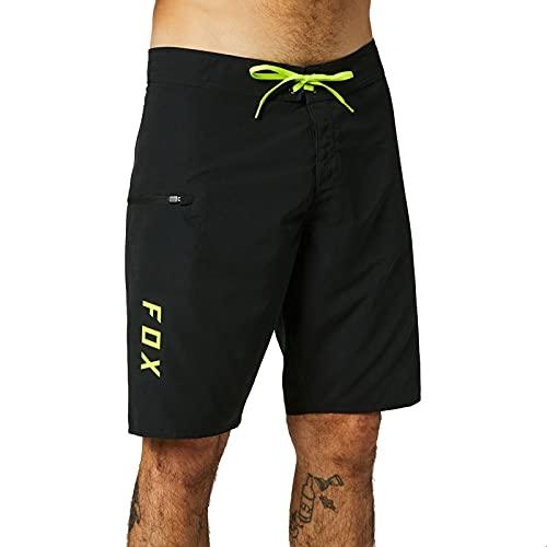 Fox Racing Overhead Boardshort 21' Black Pantalones Cortos, Negro, 30 Short para Hombre