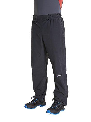 Berghaus 422077BP6 Pantalones para Caminar, Hombre, Black/Black, L