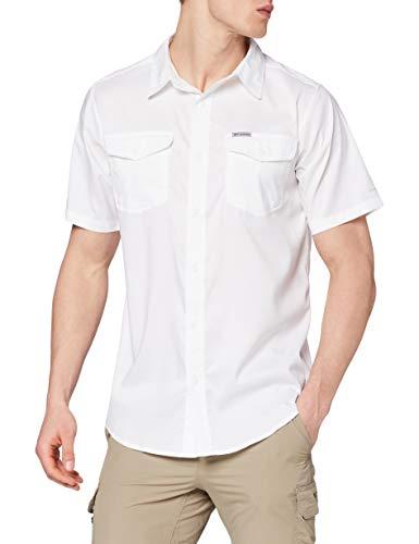 Columbia Utilizer II, Camisa de manga corta, Hombre, Blanco, Talla XXL