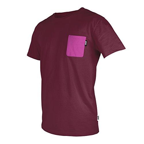 POC T-Shrit Pocket Camiseta, Unisex, Rojo/Rosa, L