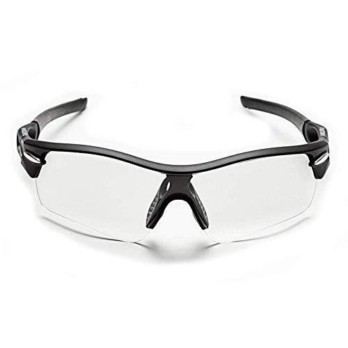 sunglasses restorer Gafas para Padel Modelo Angliru, Lente Transparente y Extra Gris Polarizada.