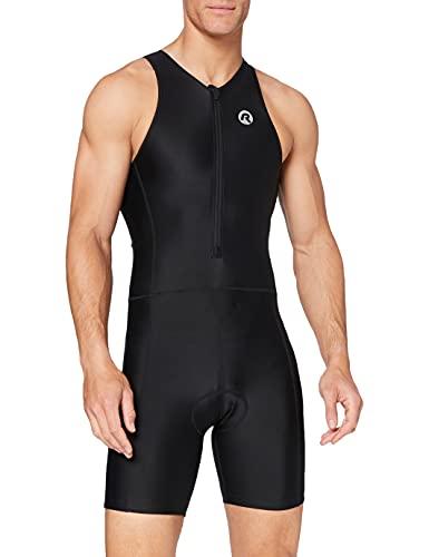 Rogelli - Traje de triatlón para Adulto, Color Negro, Primavera/Verano, Hombre, Color Negro -...*