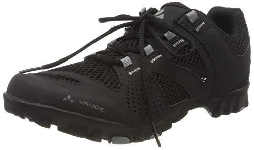 VAUDE Tvl Hjul Ventilation, Zapatillas de Ciclismo de montaña Unisex Adulto, Negro (Black 010), 39 EU