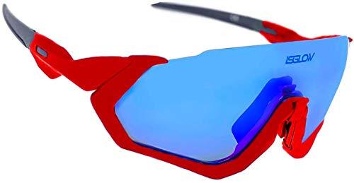 Gafas ciclismo. Polarizadas Flight Jacket. 4 Lentes intercambiables visión nítida y clara, sistema...*