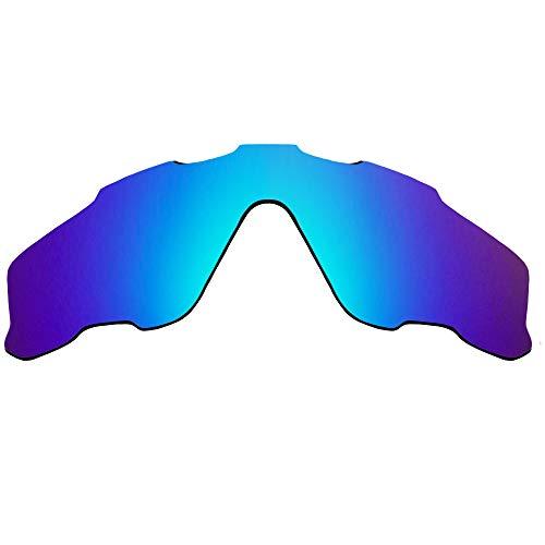 Lentes de repuesto compatibles con OAKLEY JAWBREAKER Polarizado Azul Mirror