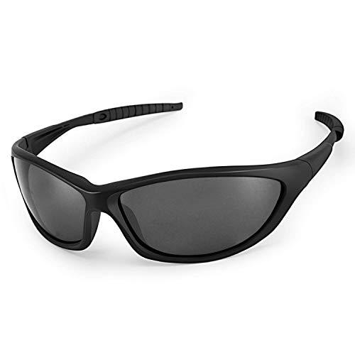 LATEC Gafas de Sol polarizadas, Gafas de Sol Deportivas para Unisex con 100% de protección UVA & Protección UV400, Marco irrompible TR90 para Deportes al Aire Libre Ciclismo Pesca Golf