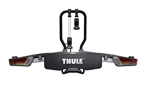Thule EasyFold XT 2, Portabicicletas para bola de remolque totalmente plegable, compacto, para todo...*