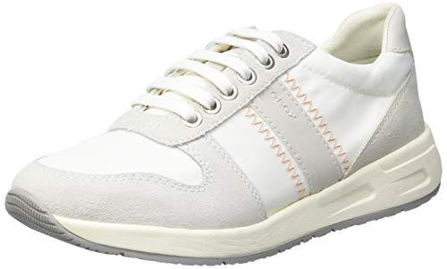 Geox D BULMYA A, Zapatillas Mujer, Color Blanco, 36 EU*