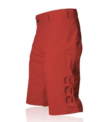POC Flow - Protección de Pantalones de Ciclismo para Hombre, tamaño M / 32', Color Rojo