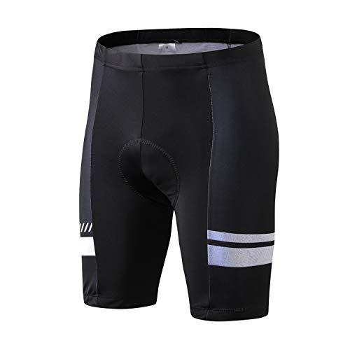 INBIKE Culotte Ciclismo MTB Pantalones Cortos Hombre Badana Gel Ropa Interior Verano Ciclista Trajes de Bicicleta Montaña L