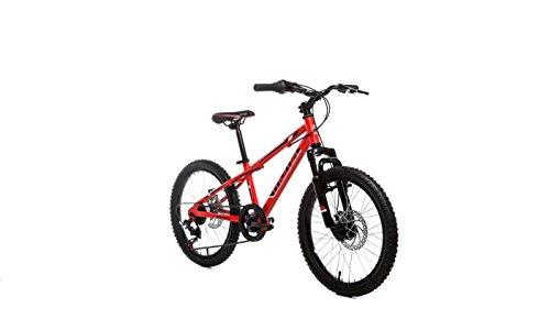 Moma Bikes Bicicleta Infantil, Montaña GTT20', Alu, SHIMANO 6V. Doble Freno Disco, Susp. Delant.