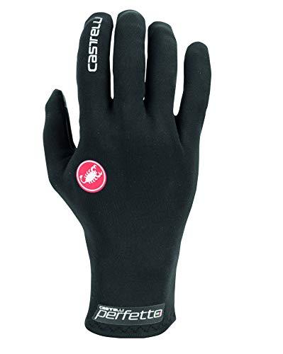 castelli Perfetto Ros Glove Guantes de fútbol, Unisex Adulto, Negro, XX-Large