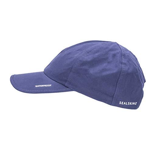 Sealskinz Unisex Waterproof All Weather Cap, Navy Blue, OneSize