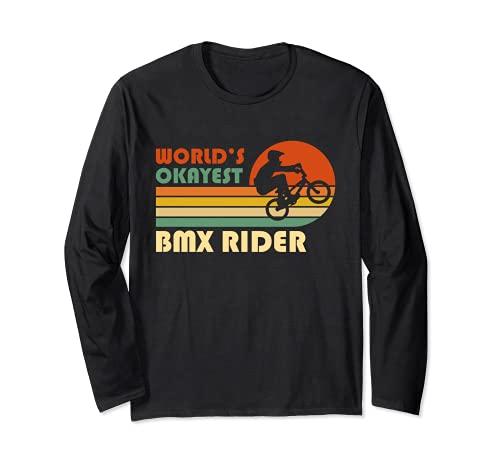 El piloto de BMX más bueno del mundo - Divertido deporte Manga Larga