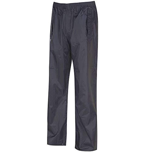 Regatta Stormbreak - Pantalón impermeable para hombre, Negro, tamaño L (50-52 EU)