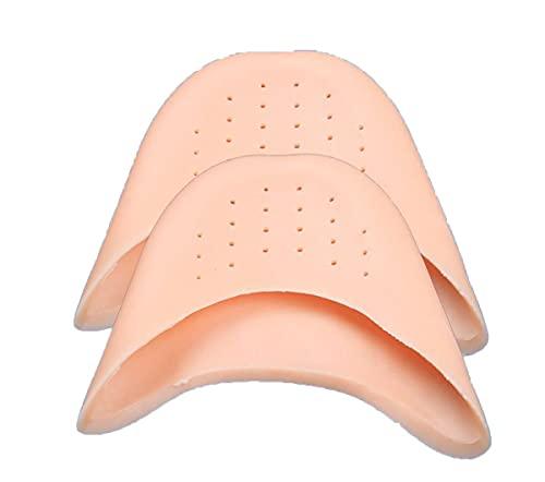 ZHJBD 3 Pares de Silicona con Orificios Conjuntos de Puntera ventilados de Conjuntos de pie de Ballet de Ultra Espesor de Manga Protectora * No.:ww-693
