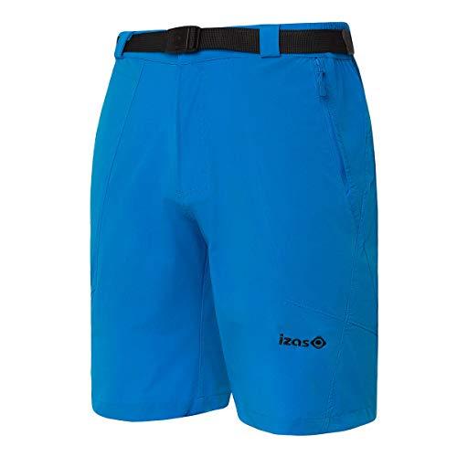Izas Biescas Pantalones Cortos Trekking, Hombre, Azul Cian, L