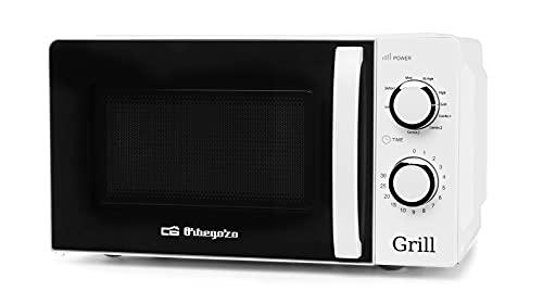 Orbegozo MIG 2130 Microondas con Grill con 20 litros de Capacidad, 5 Niveles de Funcionamiento y 3...*