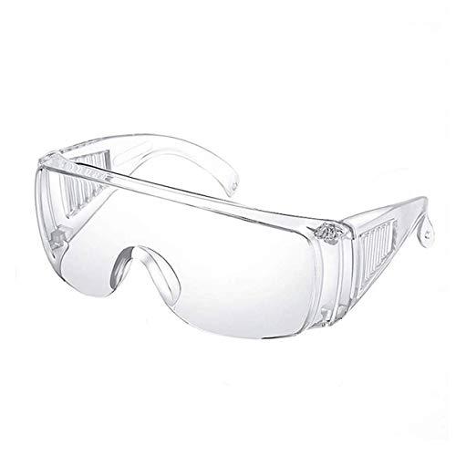 Walwes Internatioanl Gafas protectoras transparentes de alta resistencia y seguridad, plegables,...*