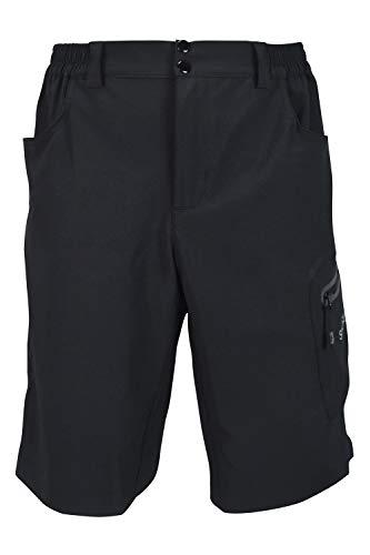 SUNDRIED para Hombre Pantalones Cortos en Bicicleta de montaña Gama Pro MTB Ropa de Ciclo (S,...*