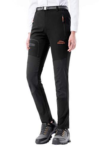 DAFENP Pantalones Trekking Mujer Impermeable Pantalones de Escalada Senderismo Alpinismo Ligero...*