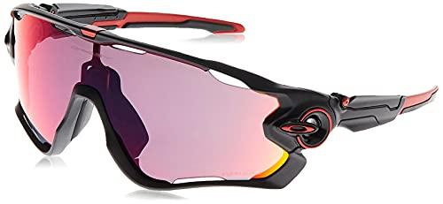 OAKLEY 0OO9290 Gafas de sol para Unisex, Negro Mate/Rojo, 0*