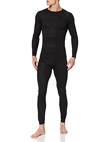 Ultrasport Thermal Underwear Set Conjunto, Hombre, Negro, S*