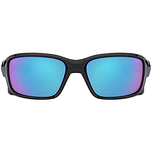 OAKLEY Straightlink Oo9331 933104 58 Mm Gafas de sol para Unisex, Negro/Azul, 0*